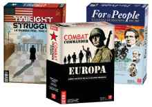GMT Pack: Twilight Struggle + Combat Commander Europa + For the People TABLERUM