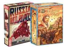 comprar Russian Railroads y Los Viajes de Marco Polo