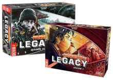 Pandemic Legacy S1 Rojo + Pandemic Legacy S2 Negro TABLERUM