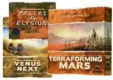 Terraforming Mars: Core + Hellas & Helysium + Venus TABLERUM