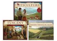 Viticulture Essential Edition + Tuscany (+ PROMOS) + Visitantes del Páramo TABLERUM