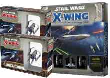 Star Wars X Wing Pack El Despertar de la Fuerza y Doble IG