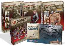 Zombicide Black Plague expansiones