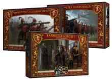 Canción de Hielo y Fuego: El Juego de Miniaturas: Casa Lannister TABLERUM