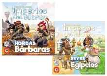 Colonos del Imperio: Imperios del Norte: Hordas Bárbaras y Reyes Egipcios TABLERUM