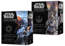 Star Wars Legión: Dotación de cañón láser 1.4 FD + Operadores de bláster pesado E-Web TABLERUM