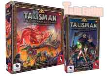 Talisman 4Ed Revisada + Talisman: Exp. La Parca TABLERUM