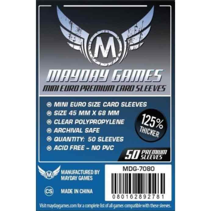 Fundas Mayday Mini Chimera  PREMIUM 45 x 68 Dark Blue (50 unidades) TABLERUM