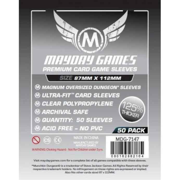 Fundas Mayday 87 x 112 Premium Magnum Oversized Dungeon (50) TABLERUM