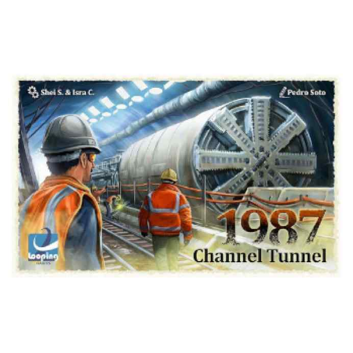 1987 Channel Tunnel TABLERUM