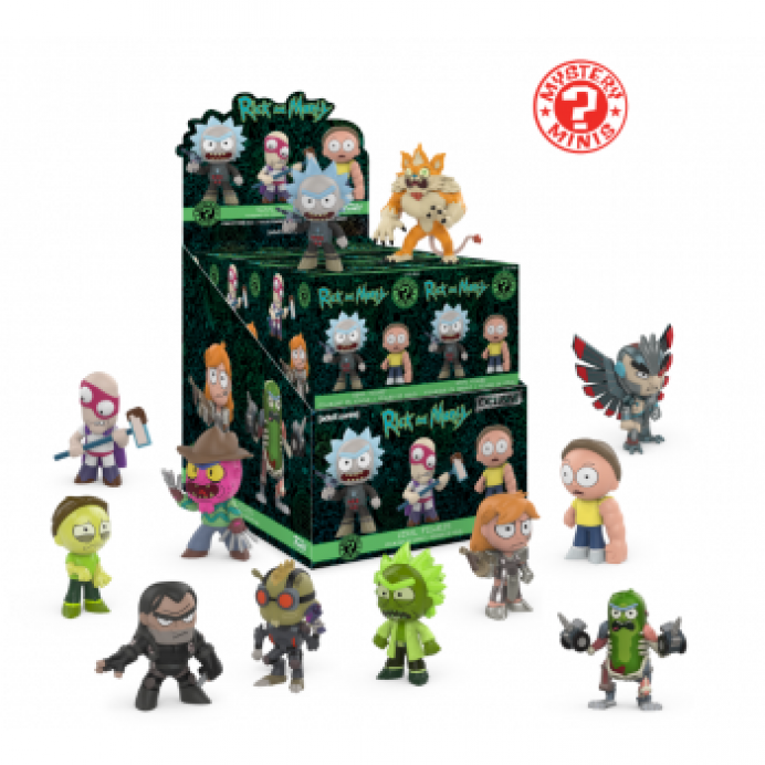 Funko Mistery Minis: Rick y Morty TABLERUM