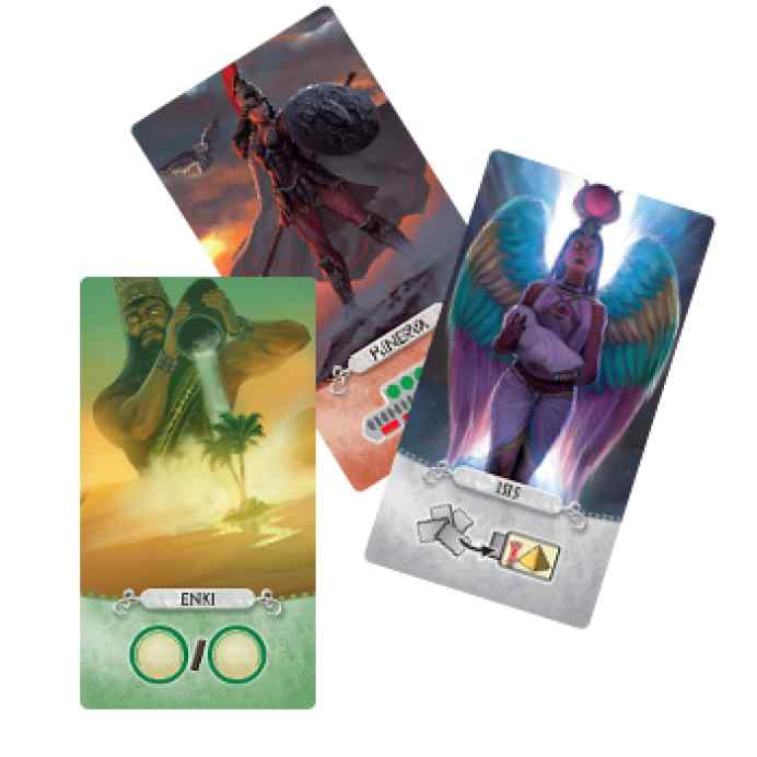 7 Wonders Duel: Pantheon cartas