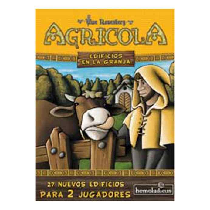comprar Agricola 2 Jugadores Expansión: Edificios en la granja