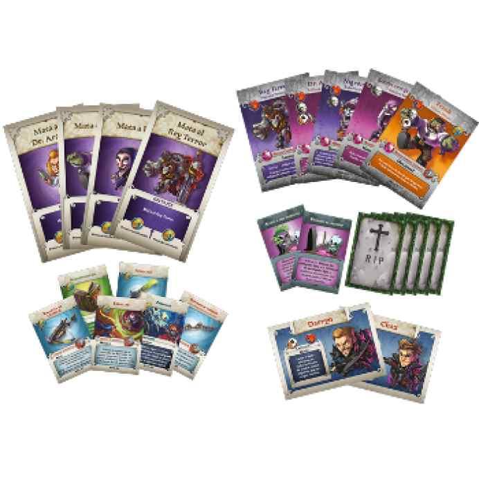 Arcadia Quest: Más Allá de la Tumba Cartas