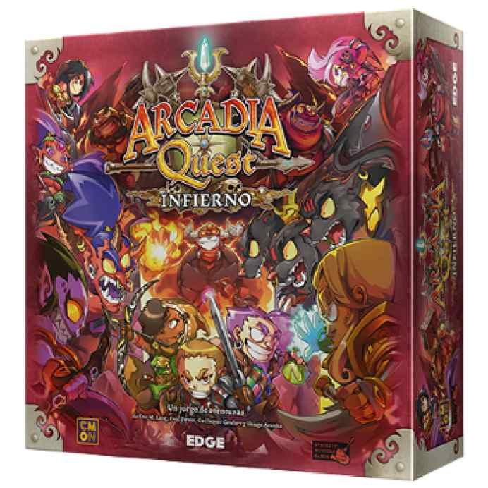 Arcadia Quest: Infierno TABLERUM