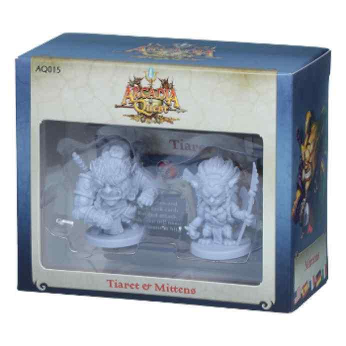 Arcadia Quest: Tiaret y Mittens barato