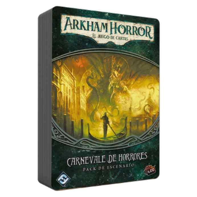 Arkham Horror (LCG): Carnevale de horrores TABLERUM