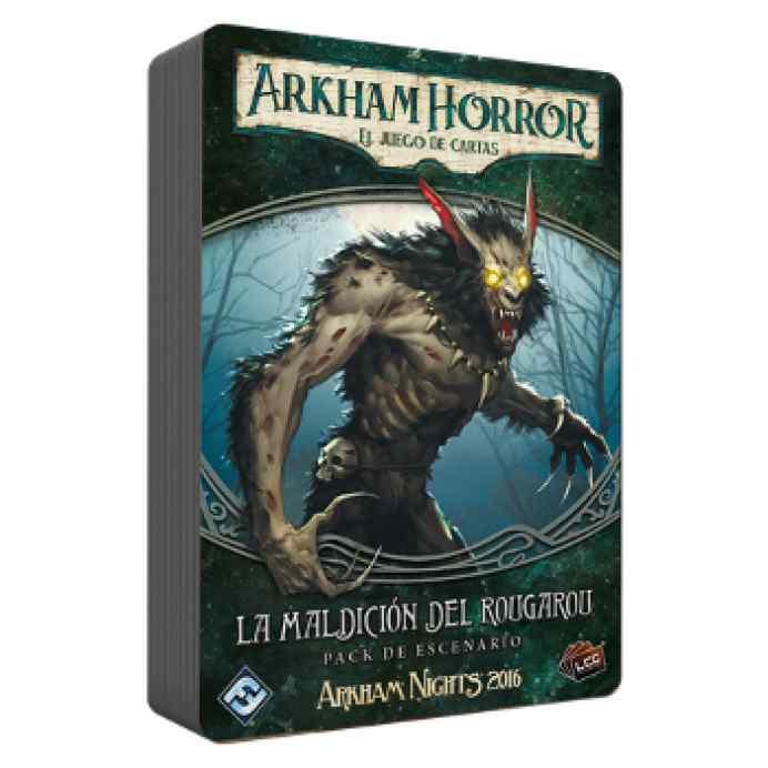 Arkham Horror (LCG): La maldición del rougarou TABLERUM
