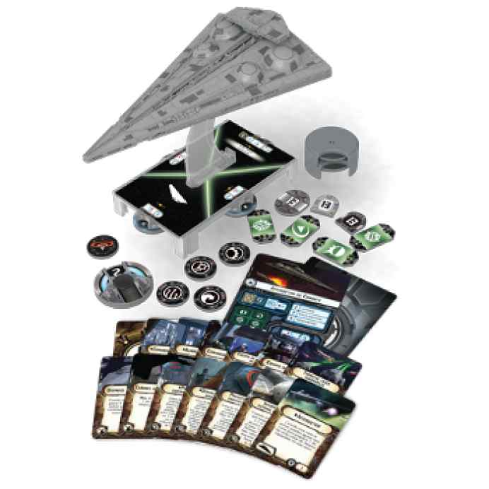 juego Star Wars Armada Interdictor wave 4
