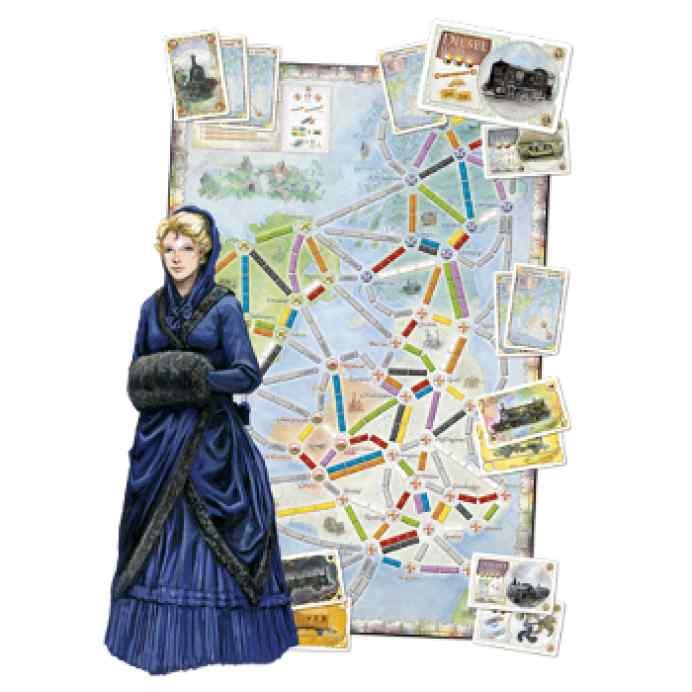 comprar Aventureros Al Tren! : Reino Unido y Pennsylvania mapas