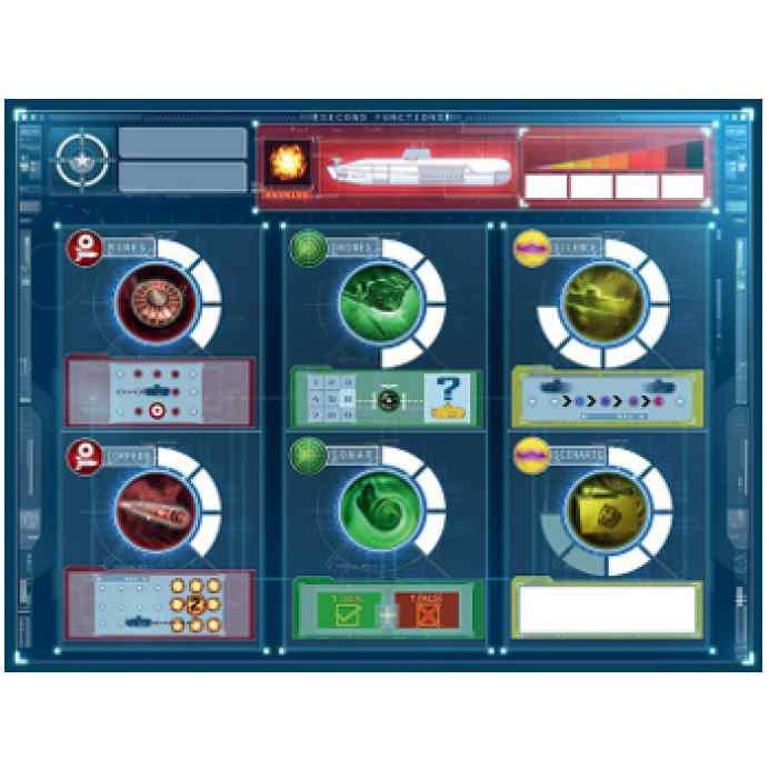 juego de mesa Captain SONAR