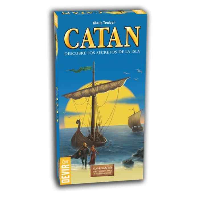 Colonos Catán Navegantes Ampliación 5-6 Jugadores