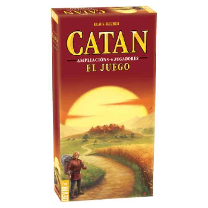 comprar Colonos Catán extensión 5-6 jugadores