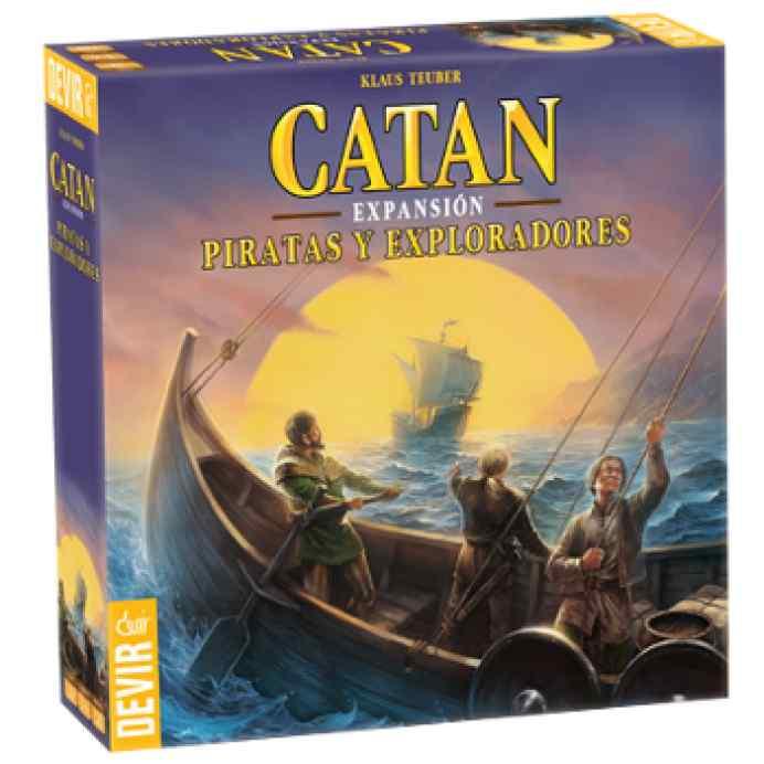 Colonos de Catán expansión Piratas y Exploradores