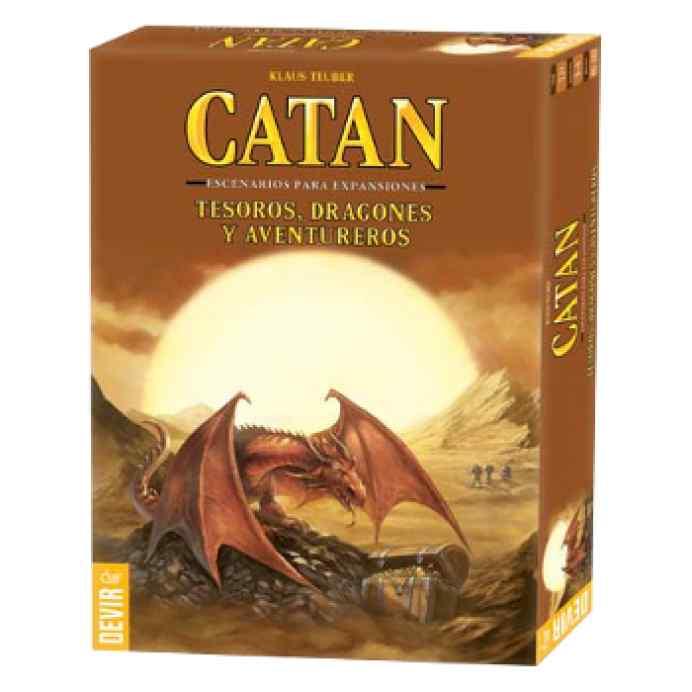 Catán: Tesoros, Dragones y Aventureros