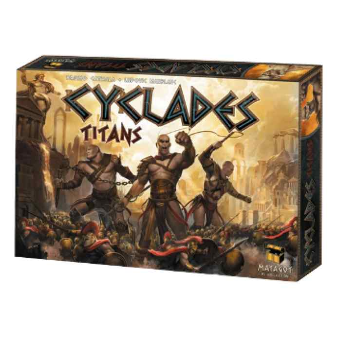 Cyclades: Titans TABLERUM