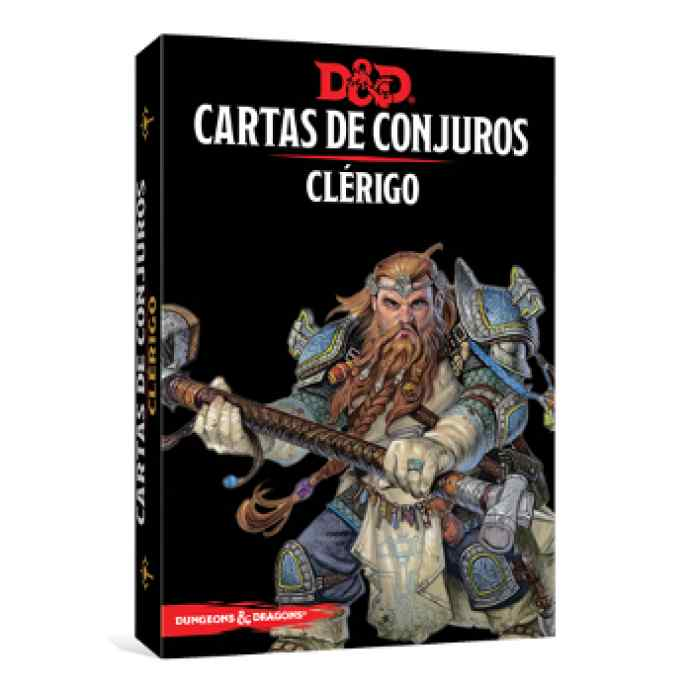 Dungeons & Dragons: Cartas de Conjuro: Clérigo TABLERUM