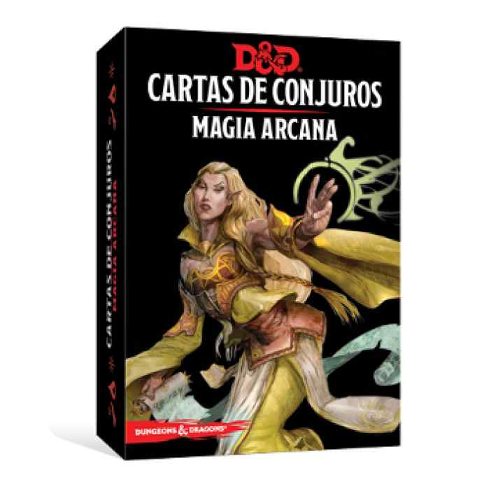 Dungeons & Dragons: Cartas de Conjuro: Magia Arcana TABLERUM