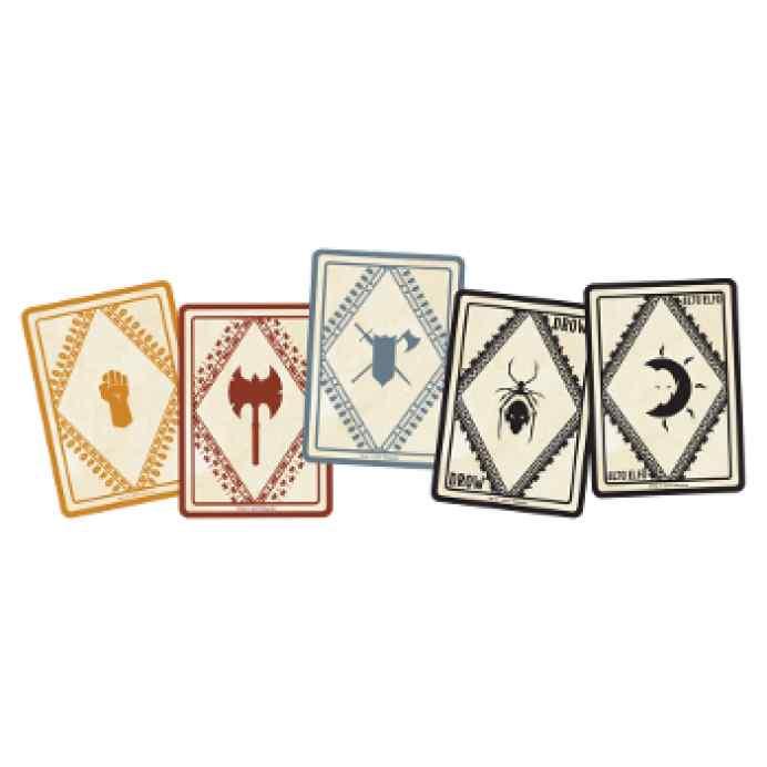 Dungeons & Dragons: Cartas de Conjuro: Poderes Marciales y Razas TABLERUM