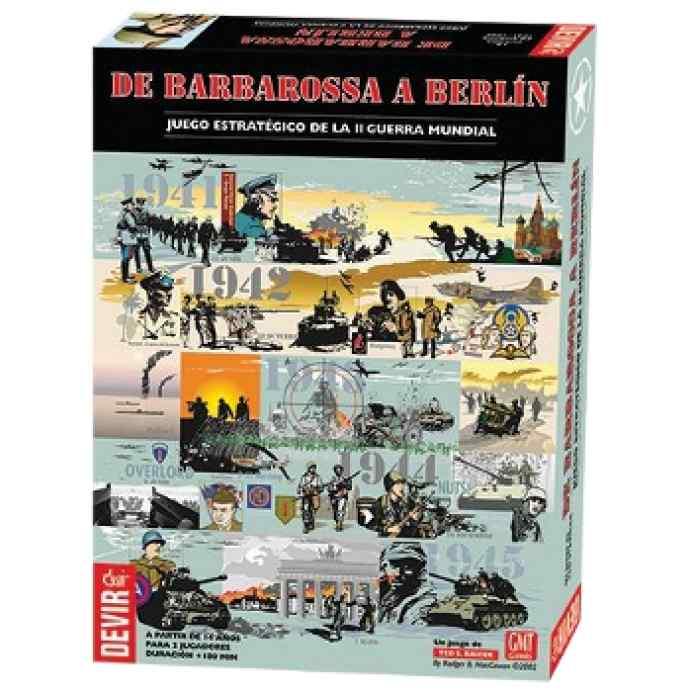 De Barbarossa a Berlin TABLERUM