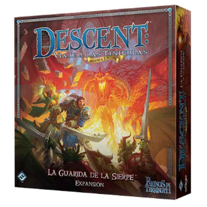 Descent 2: La guarida de la Sierpe TABLERUM