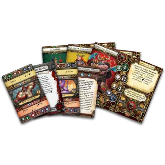 Descent 2: Senescales del Secreto cartas