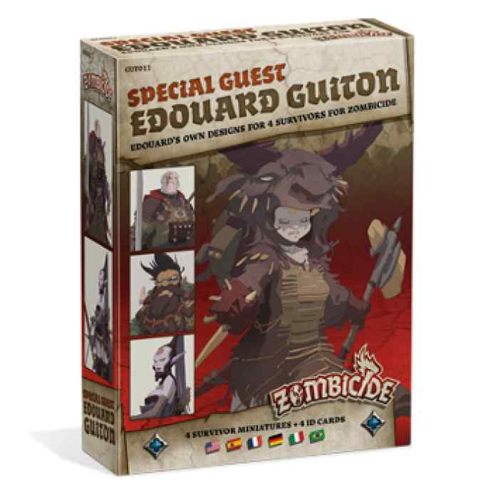 Expansion Zombicide Black Plague Special Guest: Edouard Guiton