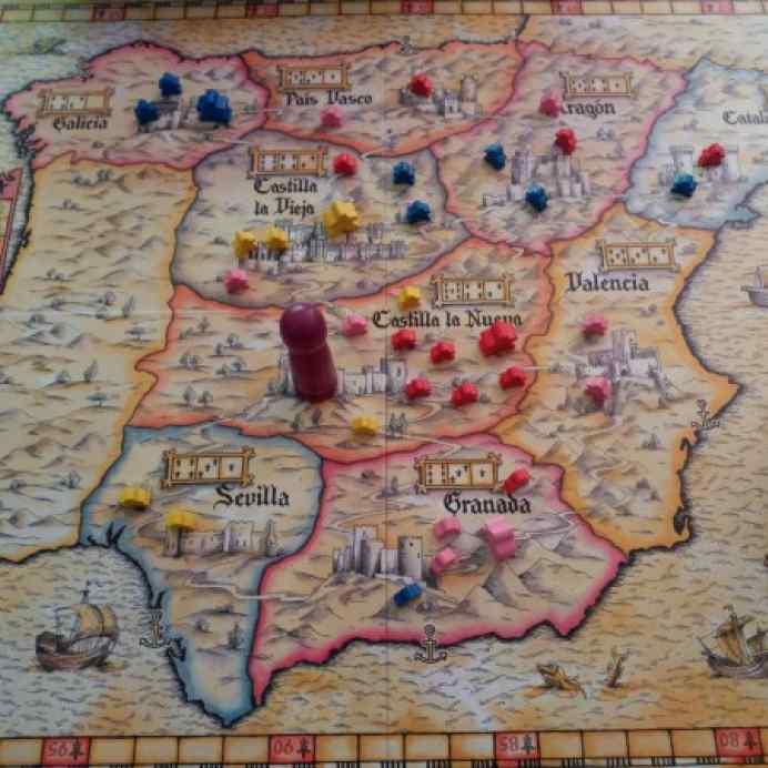 mapa de El Grande 20 aniversario