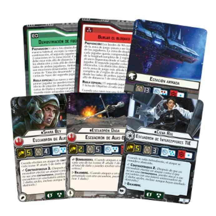 Star Wars Armada: El Conflicto Corelliano Cartas