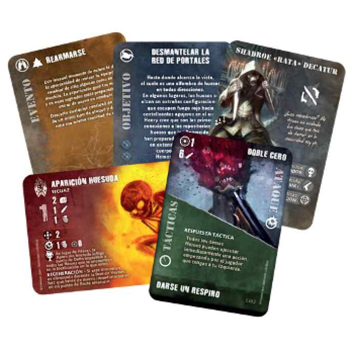 Fireteam Zero cartas