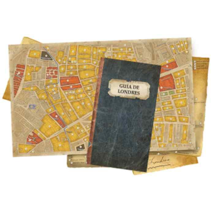 Sherlock Holmes Detective Asesor: Jack el Destripador y Aventuras en el West End TABLERUM