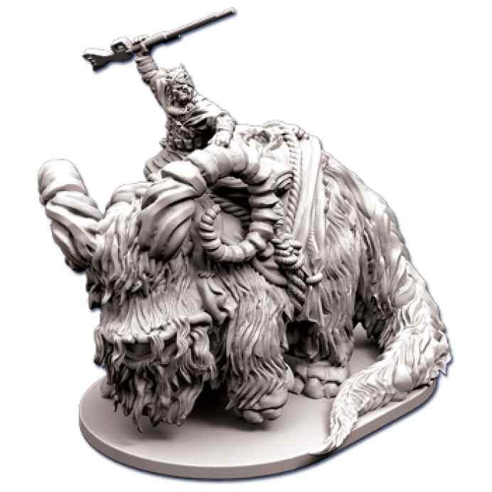 comprar Imperial Assault: Jinete de Bantha miniatura