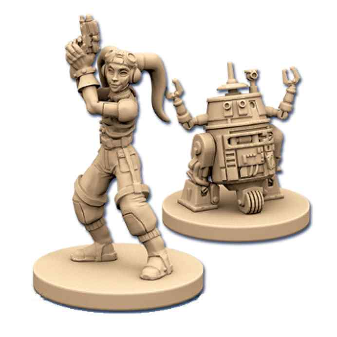 Imperial Assault: Hera Syndulla y C1-10P