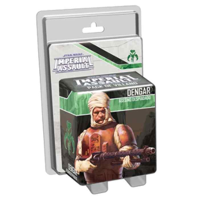 juego Imperial Assault: Dengar, Asesino despiadado