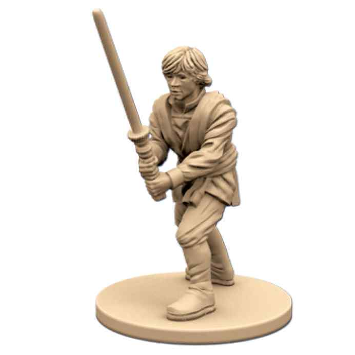 Imperial Assault: Luke Skywalker, Caballero Jedi