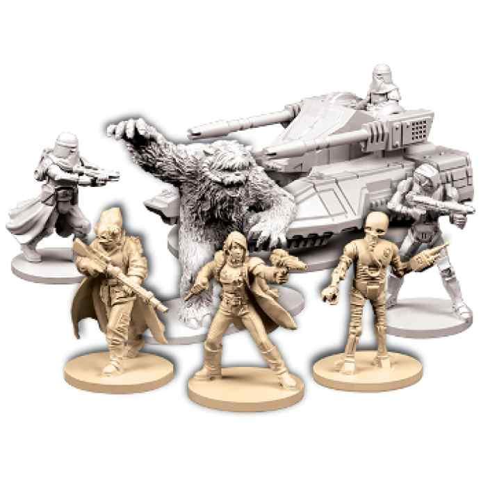 juego Imperial Assault: Regreso a Hoth