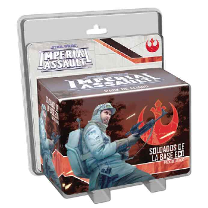 juego Imperial Assault: Soldados de la Base Eco