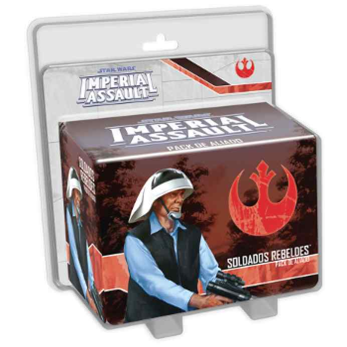Star Wars: Imperial Assault Soldados Rebeldes