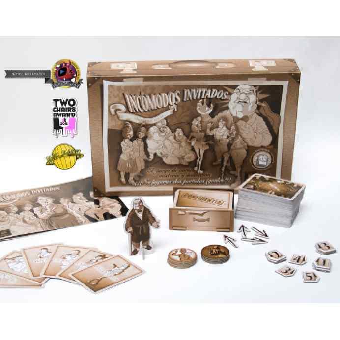 Comprar juego de mesa Incómodos Invitados 2 edición