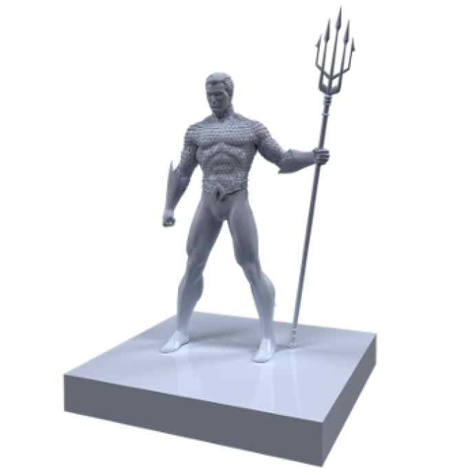 Justice League: Dawn of Heroes Aquaman TABLERUM